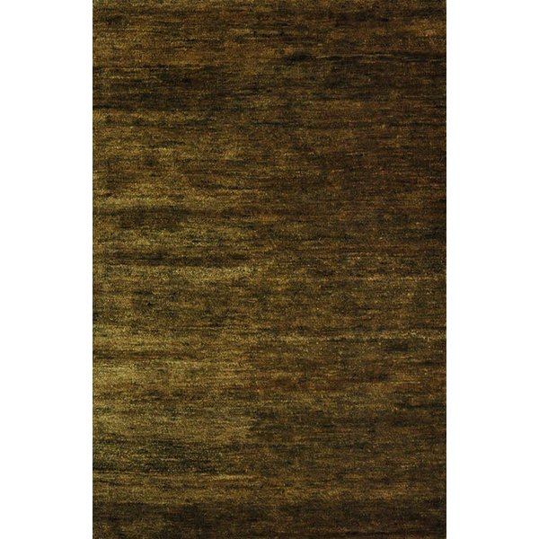 Green (D) Solid Area Rug