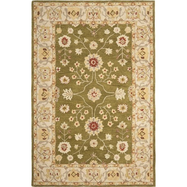 Moss, Ivory (D) Traditional / Oriental Area Rug