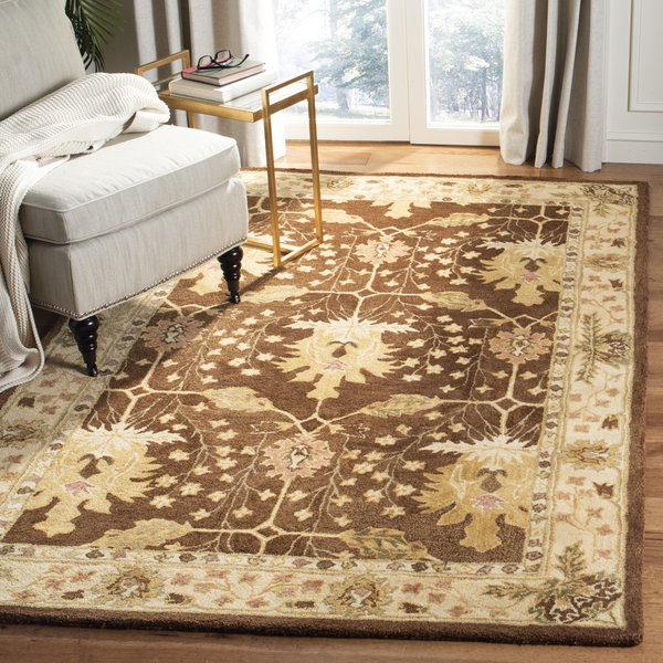 Brown (B) Traditional / Oriental Area Rug
