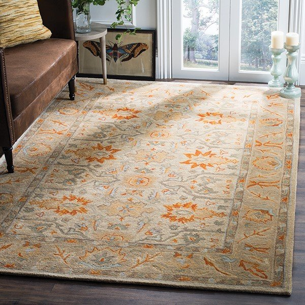 Beige (A) Traditional / Oriental Area Rug