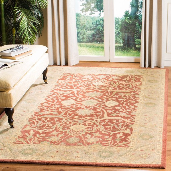 Rust (C) Traditional / Oriental Area-Rugs