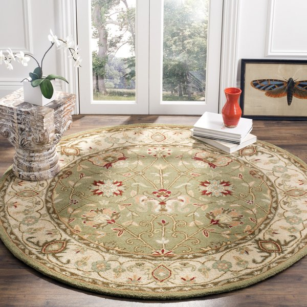 Sage (D) Traditional / Oriental Area Rug