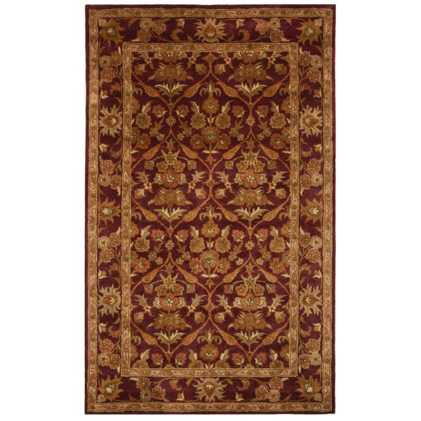 Wine, Gold (A) Traditional / Oriental Area-Rugs