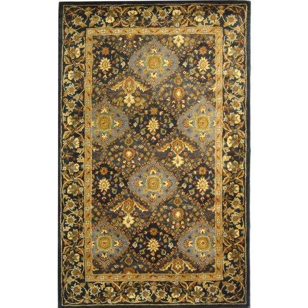 Blue (A) Traditional / Oriental Area-Rugs