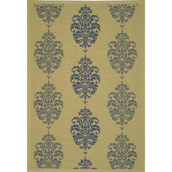 Natural, Blue (3101) Traditional / Oriental Area-Rugs