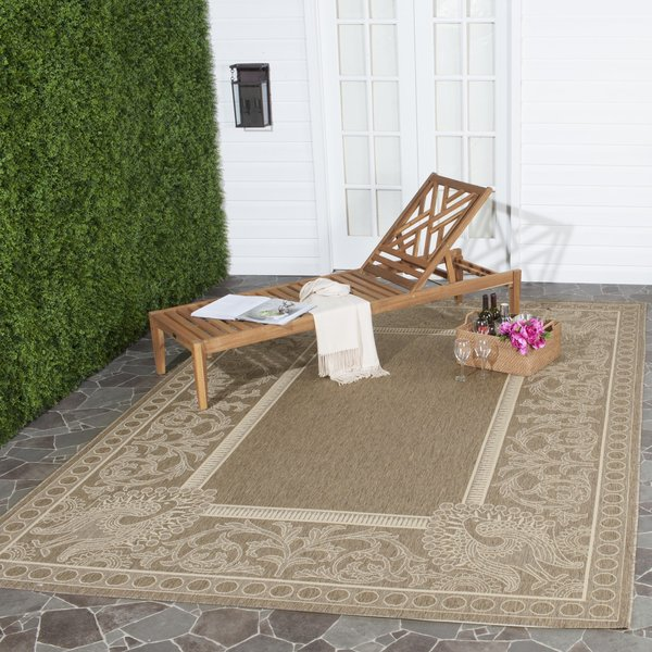 Brown, Natural (3009) Contemporary / Modern Area Rug