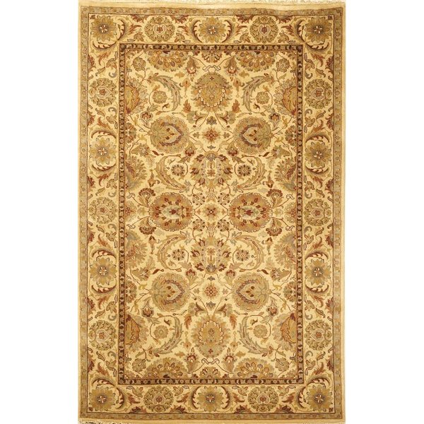 Ivory, Ivory (A) Traditional / Oriental Area-Rugs