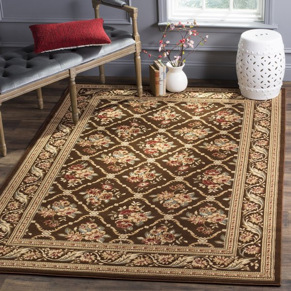 Brown (2525) Traditional / Oriental Area Rug