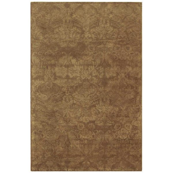 Brown (MSR-3124C) Traditional / Oriental Area Rug