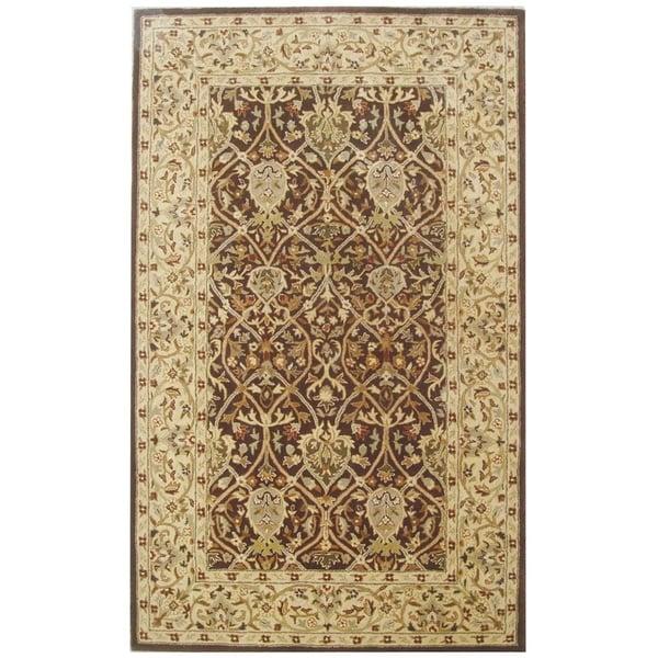 Brown, Beige (J) Traditional / Oriental Area Rug