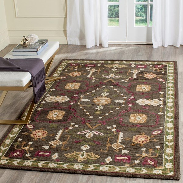 Sage, Ivory (A) Country Area Rug