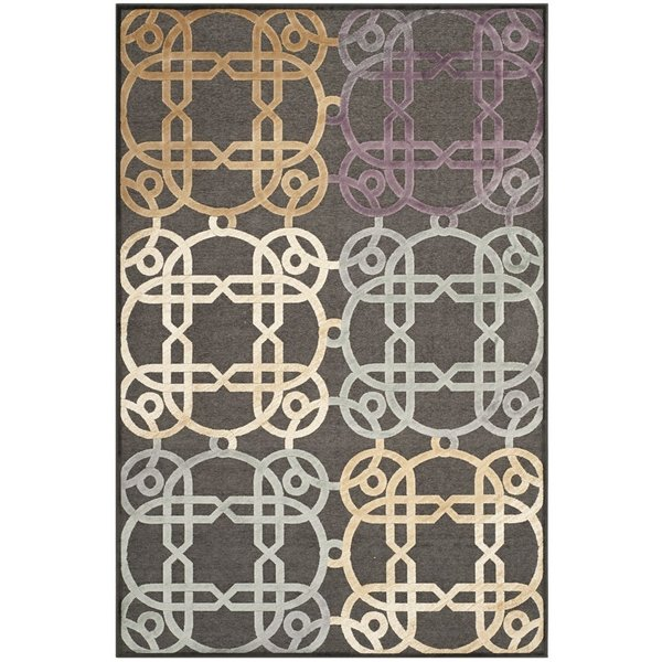 Charcoal (330) Contemporary / Modern Area Rug