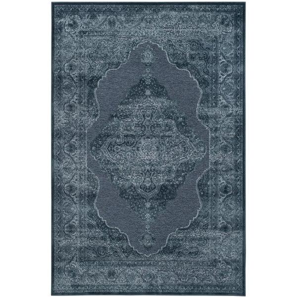 Blue (7330) Vintage / Overdyed Area Rug
