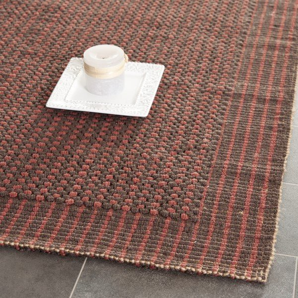 Brown, Rust (A) Natural Fiber Area Rug