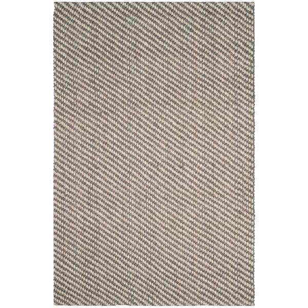 Natural, Grey (A) Natural Fiber Area Rug