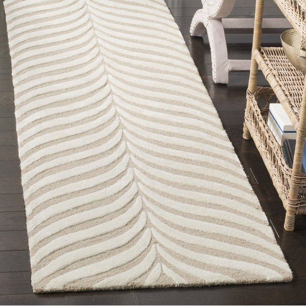 Sand, Ivory (A) Contemporary / Modern Area-Rugs