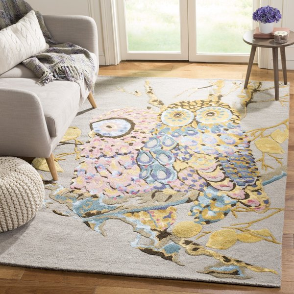 Grey (A) Children's / Kids Area Rug