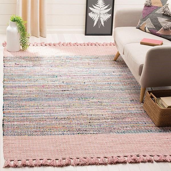 Pink (D) Bohemian Area Rug