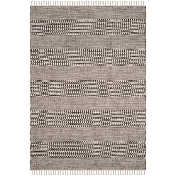 Ivory, Anthracite (N) Contemporary / Modern Area Rug