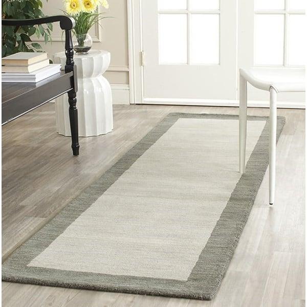Light Grey, Dark Grey (B) Contemporary / Modern Area-Rugs