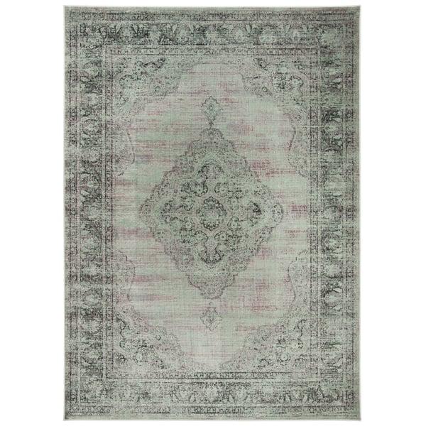 Grey (110) Traditional / Oriental Area Rug
