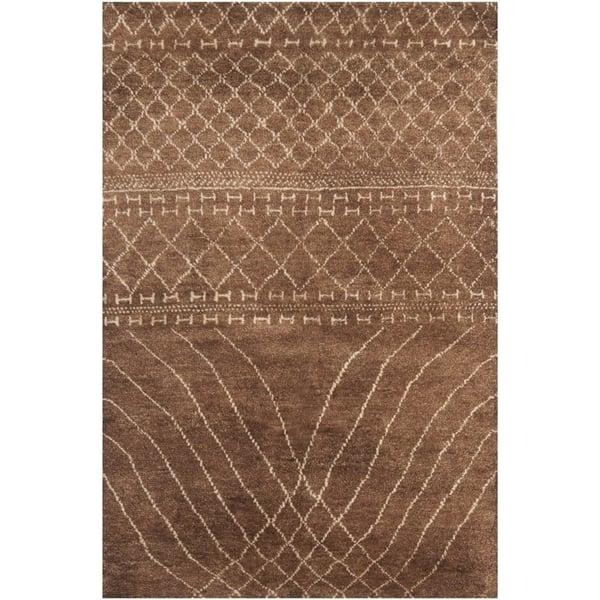 Bronze (A) Moroccan Area-Rugs