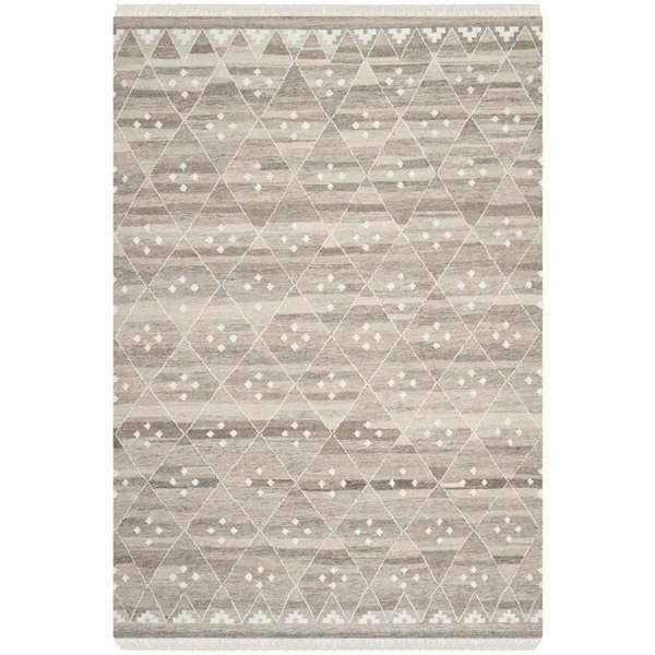 Natural, Ivory (B) Moroccan Area Rug