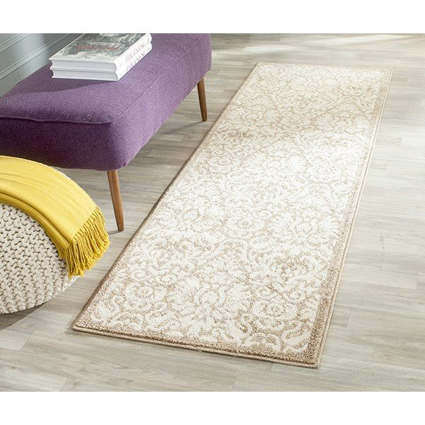 Wheat, Beige (S) Traditional / Oriental Area Rug
