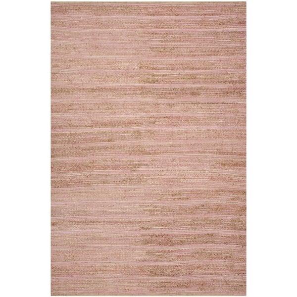 Pink (E) Natural Fiber Area-Rugs