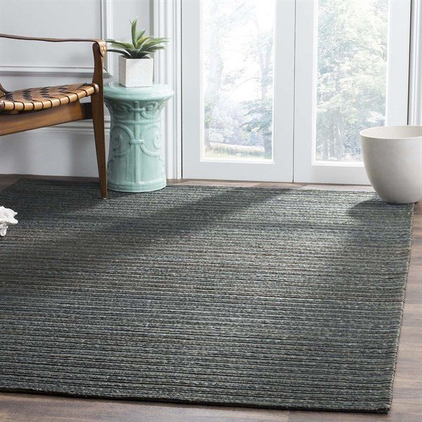 Dark Green (A) Solid Area-Rugs