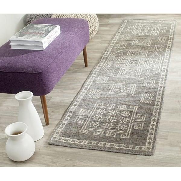 Grey (A) Moroccan Area Rug