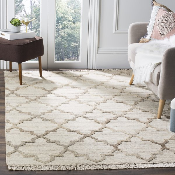 Natural (A) Contemporary / Modern Area-Rugs