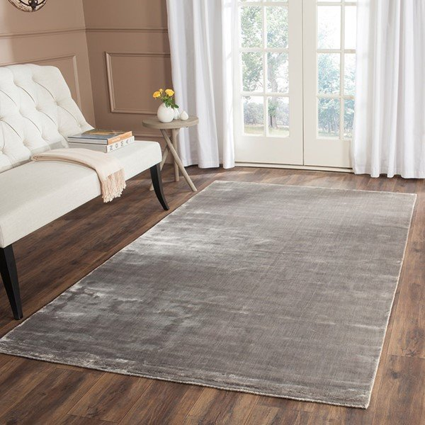 Steel (R) Solid Area Rug