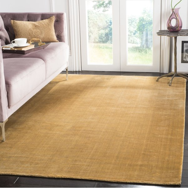 Old Gold (G) Solid Area-Rugs