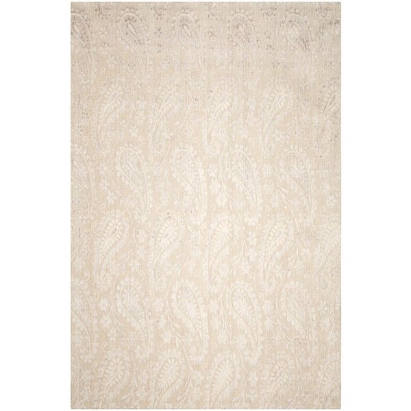 Iron, Silver (B) Traditional / Oriental Area Rug