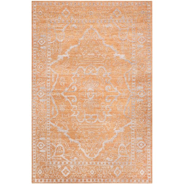 Brown, Silver (A) Traditional / Oriental Area-Rugs