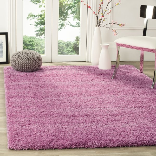 Pink (3232) Solid Area-Rugs