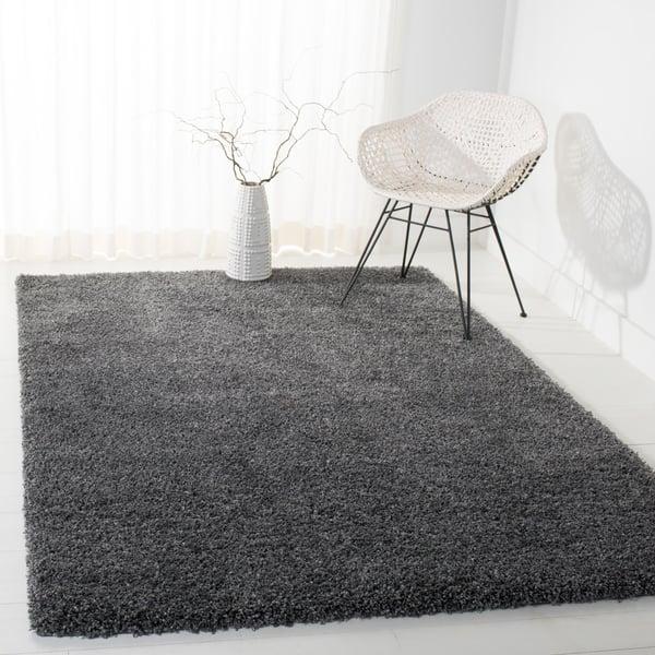 Dark Grey (8484) Solid Area-Rugs
