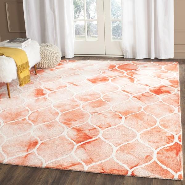 Orange, Ivory (K) Vintage / Overdyed Area-Rugs