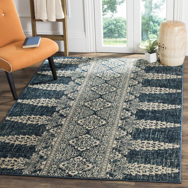 Royal, Ivory (D) Contemporary / Modern Area-Rugs