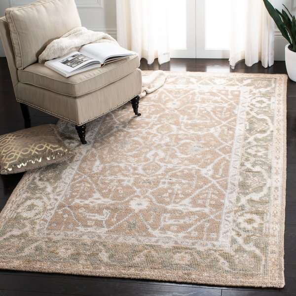 Putty, Grey (A) Traditional / Oriental Area Rug