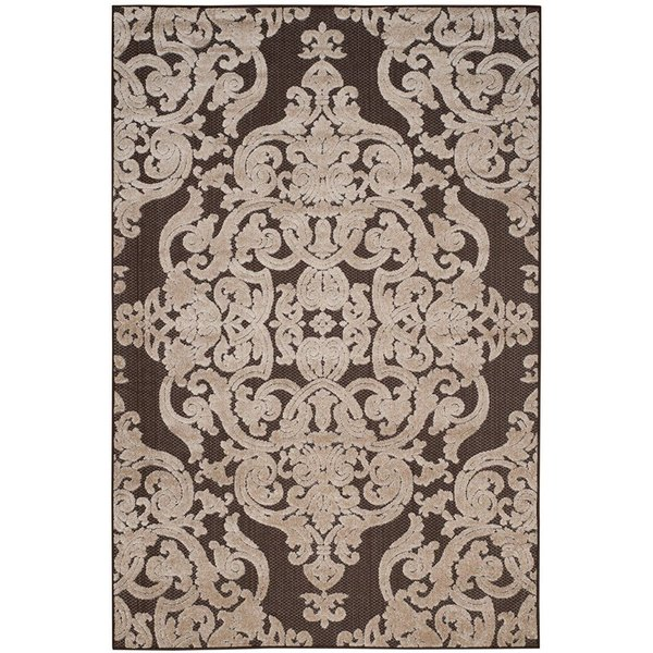 Brown (D) Traditional / Oriental Area Rug