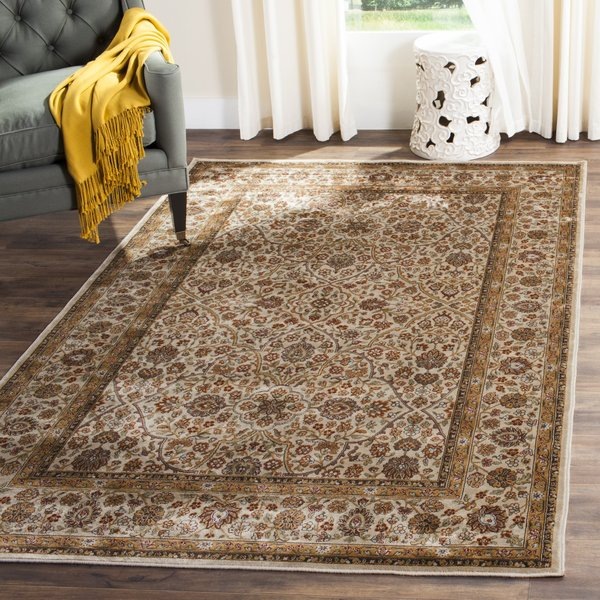Ivory (C) Traditional / Oriental Area-Rugs