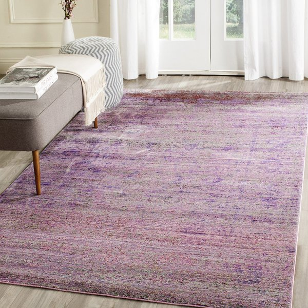 Lavender (N) Contemporary / Modern Area Rug