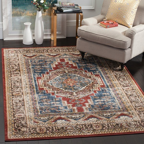 Royal, Brown (B) Traditional / Oriental Area Rug
