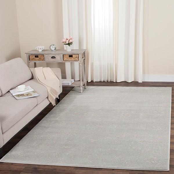 Light Grey, Cream (G) Traditional / Oriental Area-Rugs