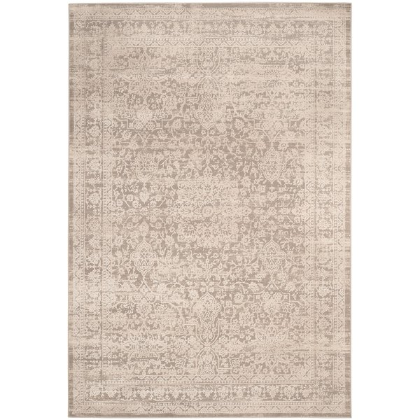 Grey, Beige (G) Vintage / Overdyed Area Rug