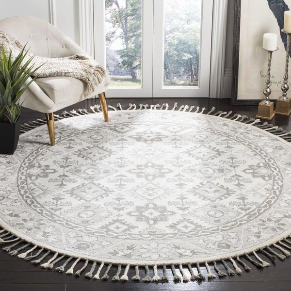 Light Grey, Grey (A) Traditional / Oriental Area Rug