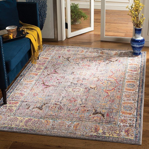 Grey, Light Grey (A) Vintage / Overdyed Area-Rugs