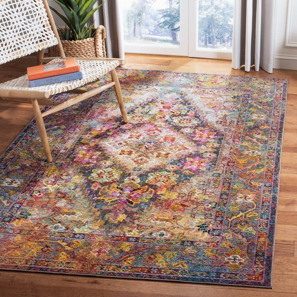 Navy, Light Blue (H) Vintage / Overdyed Area-Rugs